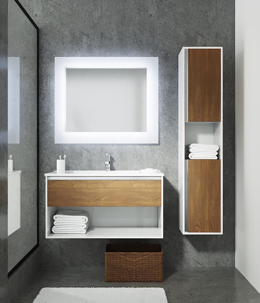 Контур 90 Мебель для ванных комнат Sanvit Санвит