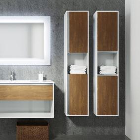 Пенал Контур Мебель для ванных комнат Sanvit Санвит