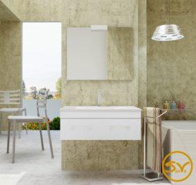 Квадро LUX мебель для ванных комнат SanVit