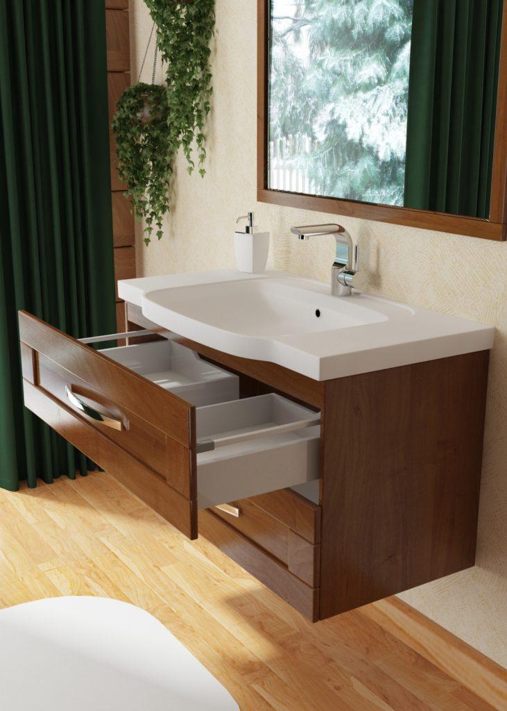 Мебель для ванных комнат Кантри