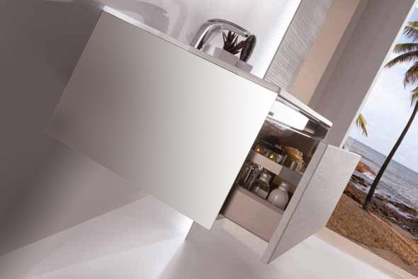 Мебель для ванных комнат SanVit модель Кубэ-1