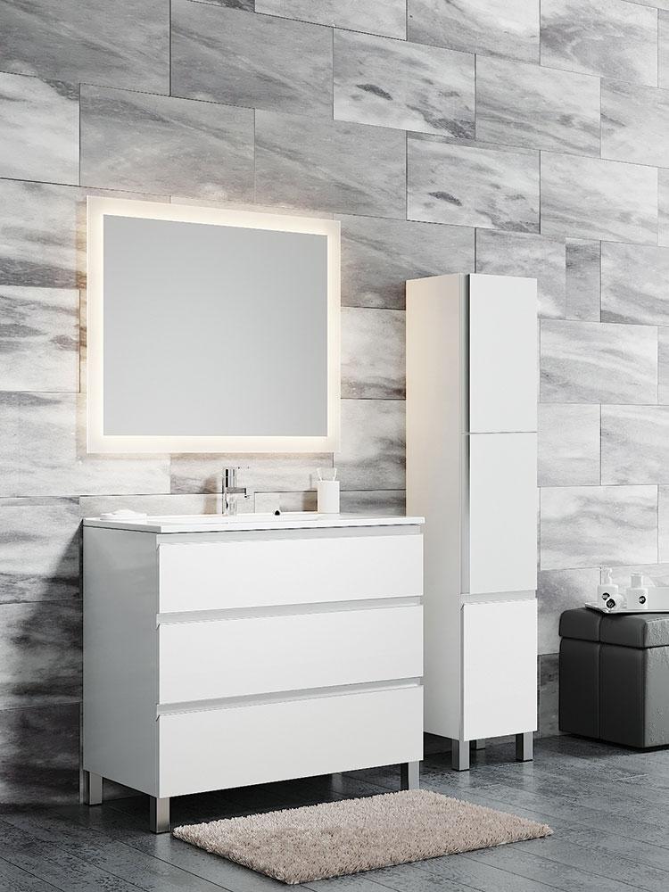 Авеню 3 пенал подвесной Мебель для ванной комнаты SanVit СанВит