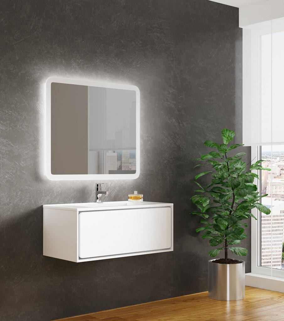 Бруно 1 90, Мебель для ванной комнаты SanVit СанВит