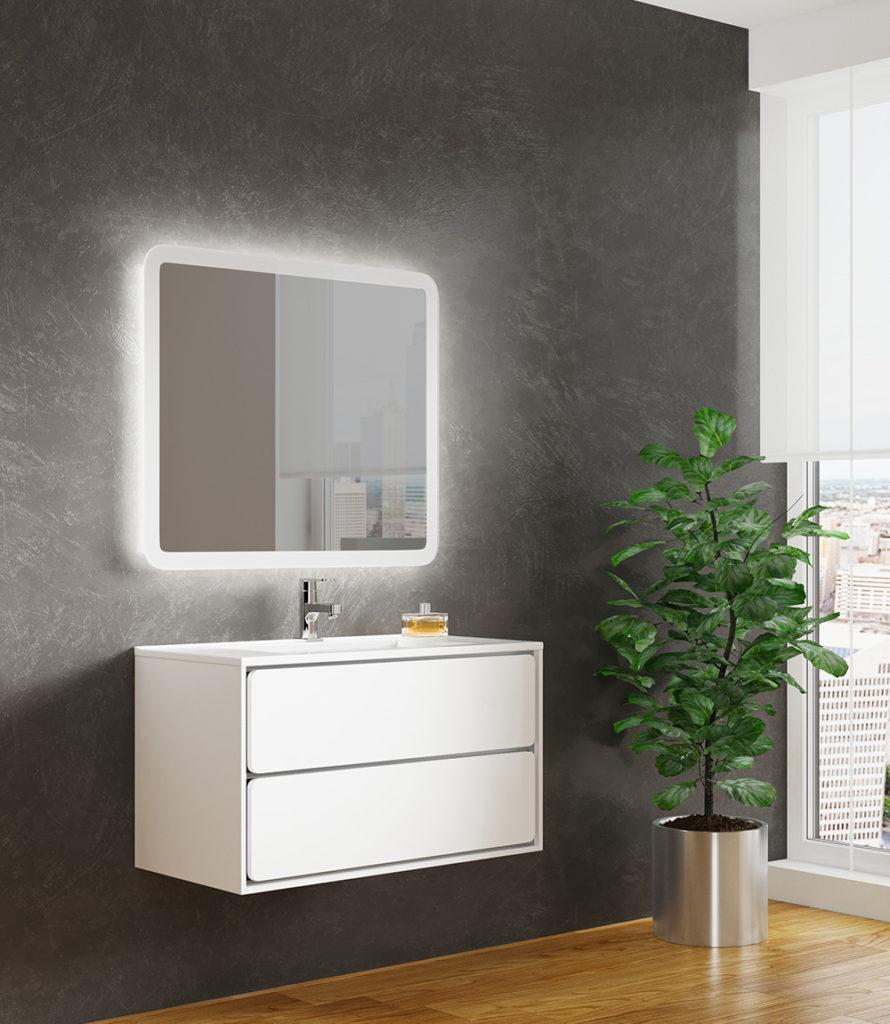 Бруно 2 90, Мебель для ванной комнаты SanVit СанВит