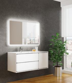 Мебель для ванной Бруно 2 120, компания SanVit Санвит