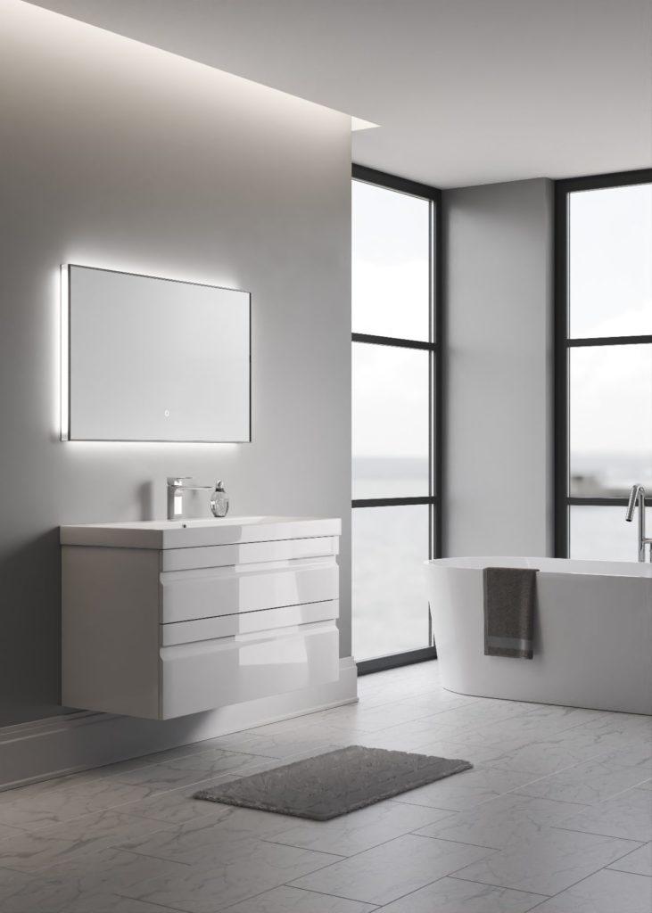 Летиция 100 Мебель для ванной комнаты SanVit СанВит