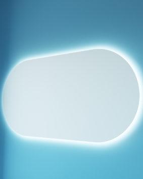 Форма 120 подвесная Мебель для ванных комнат СанВит