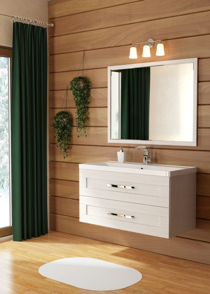 Кантри 100 Мебель для ванных комнат СанВит SanVit