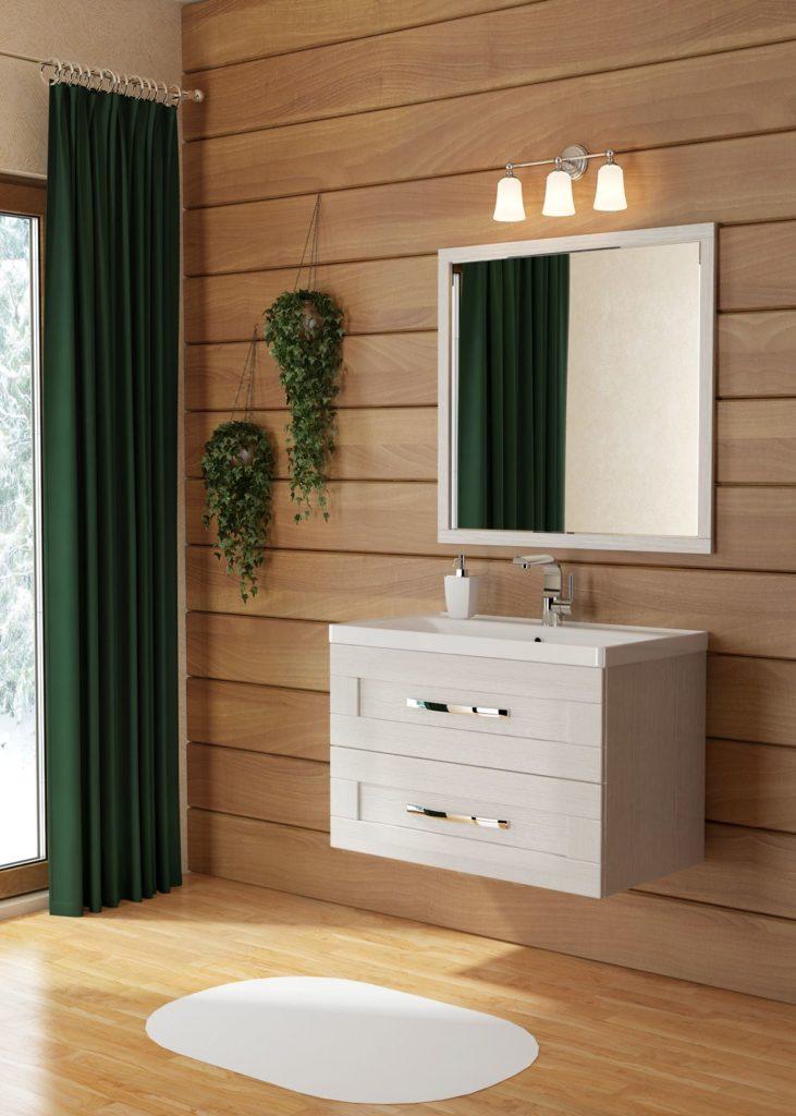 Кантри 80 Мебель для ванных комнат СанВит SanVit