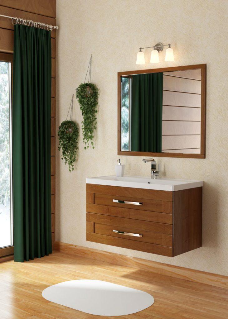 Кантри Мебель для ванных комнат СанВит SanVit