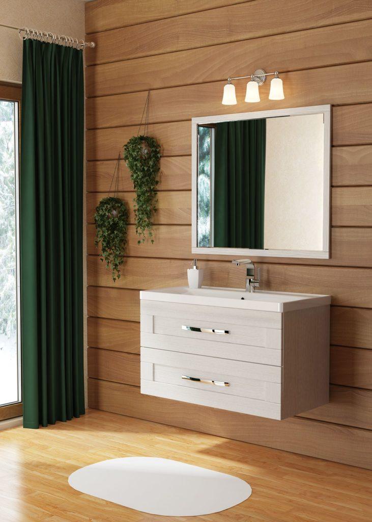 Кантри 90 Мебель для ванных комнат СанВит SanVit