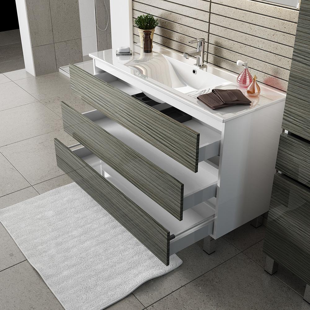 Кубэ-3 ящики Мебель для ванных комнат СанВит