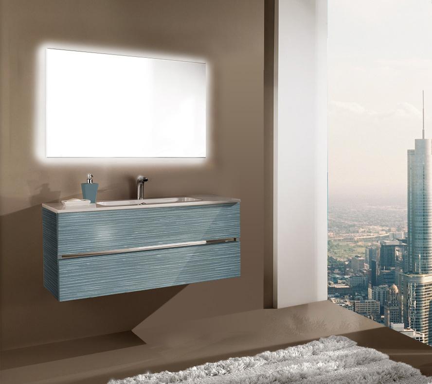 Мебель для ванной комнаты Кубэ 2 100 SanVit СанВит