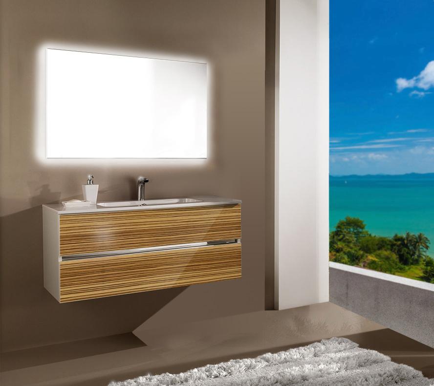 Мебель для ванной комнаты Кубэ 2 120 SanVit СанВит