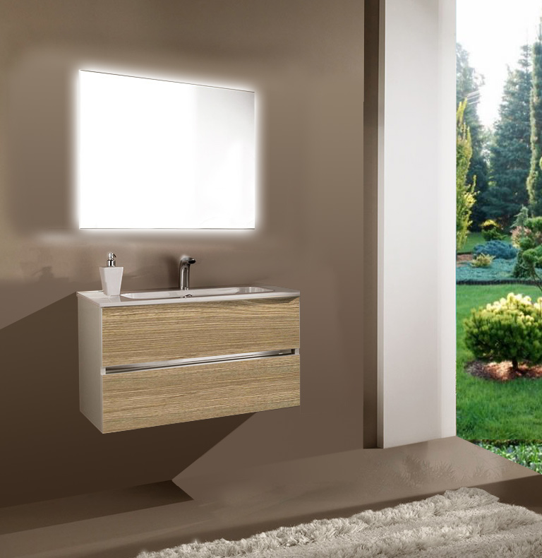 Мебель для ванной комнаты Кубэ 2 90 SanVit СанВит