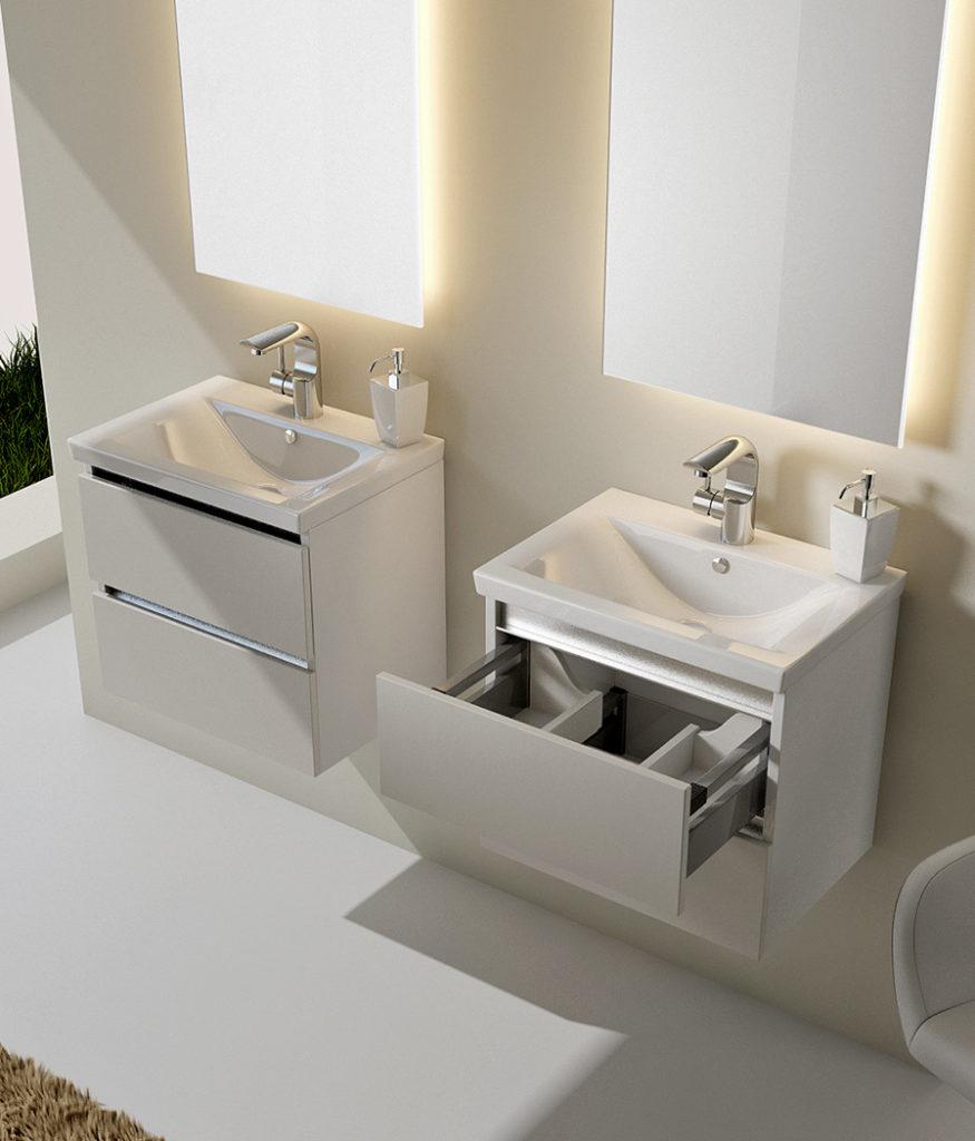 Кубэ Мини Мебель для ванных комнат СанВит