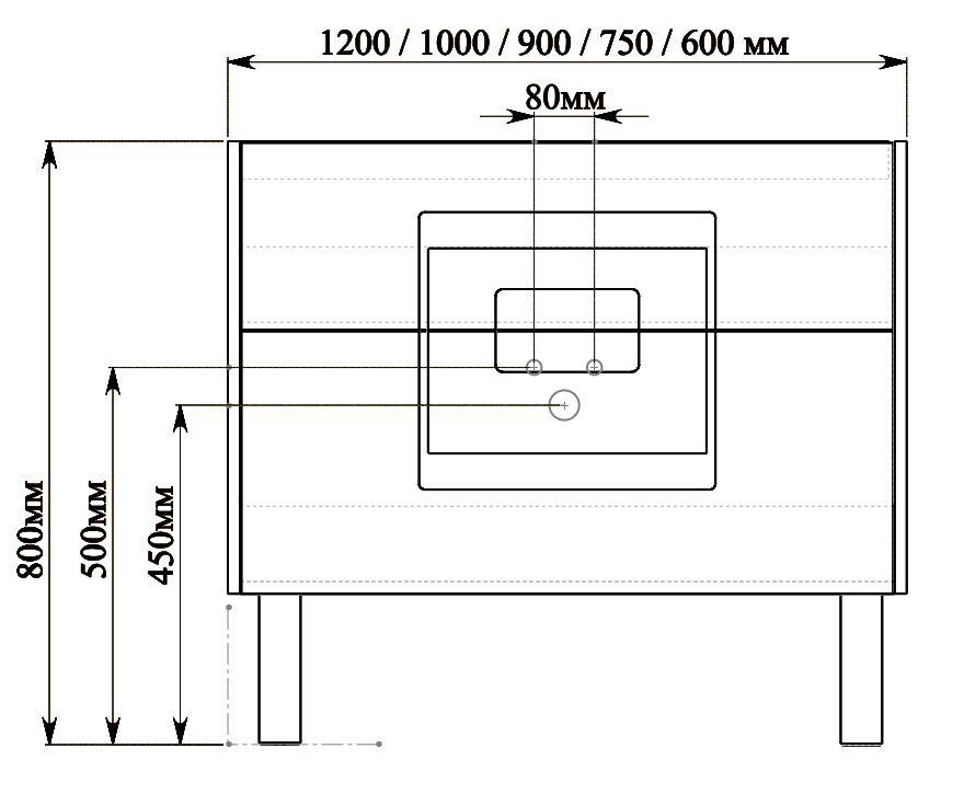 Мира схема подключения Мебель для ванной комнаты СанВит SanVit