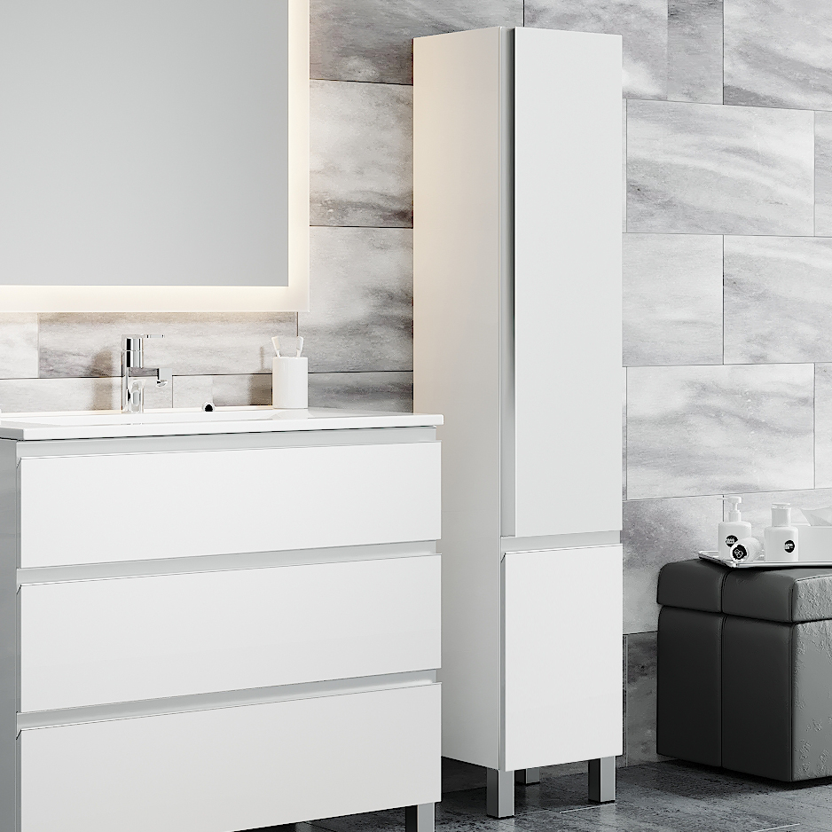 Авеню пенал напольный Мебель для ванной комнаты SanVit СанВит