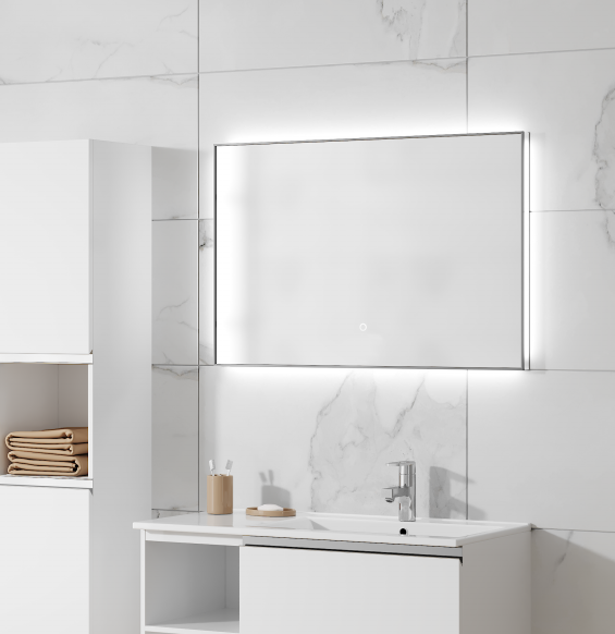 Зеркало ПАНОРАМА Мебель для ванных комнат Sanvit Санвит