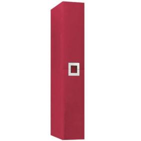 Пенал Квадро NEW LUX. Цвет покрытия - красный (пленка)