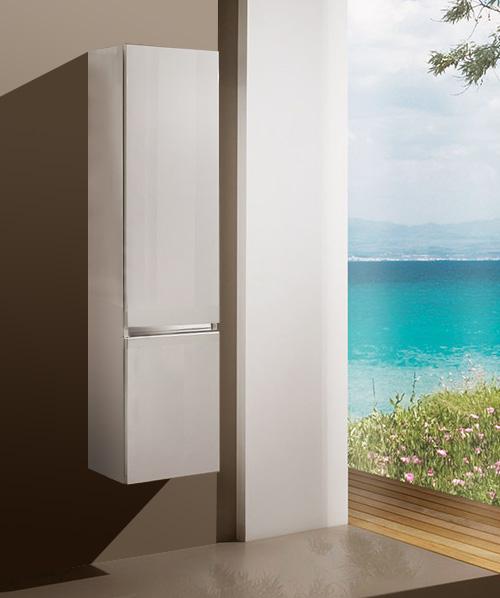 Пенал Кубэ мебель для ванных комнат Sanvit