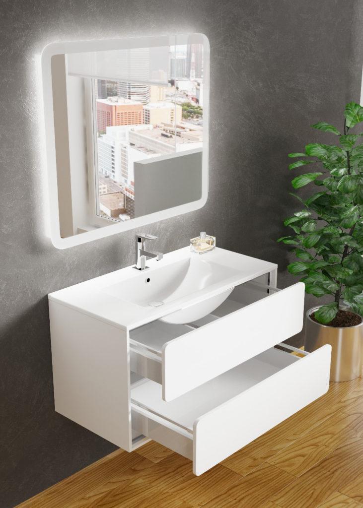 Бруно 2 Мебель для ванной комнаты SanVit СанВит